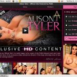 Alison Tyler 1 Day Trial