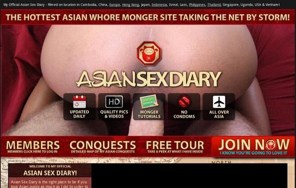 Asian Sex Diary Log In