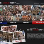 Buy Czech Home Orgy Account