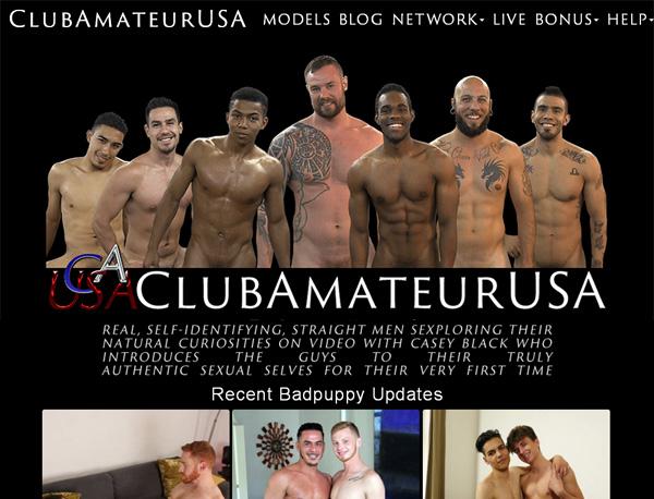 Club Amateur USA Premium Free Account