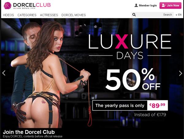 Dorcelclub.com Discount Logins