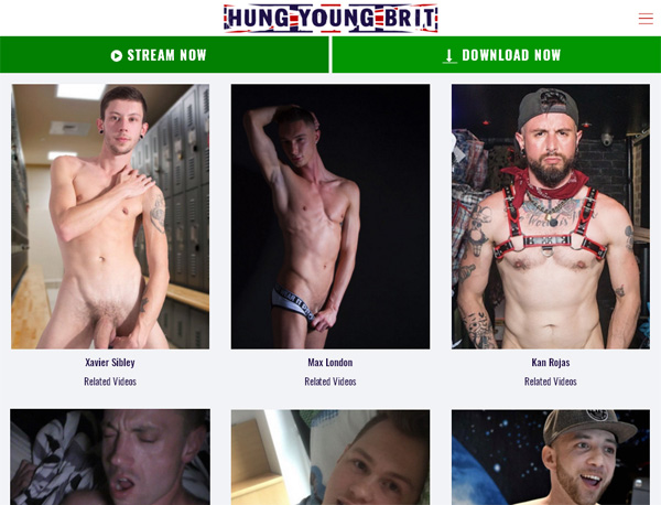 Hung Young Brit Newest