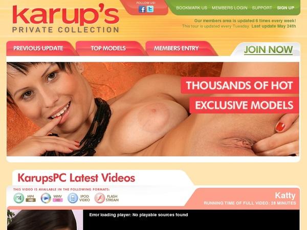 Karupspc Subscription