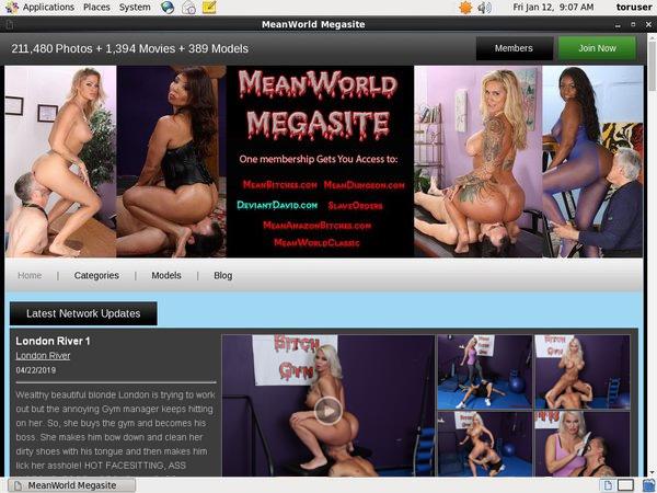 Meanworld.com Order