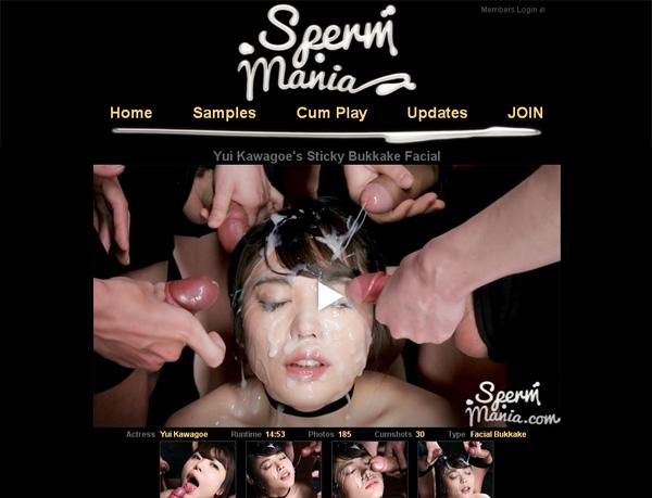 Sperm Mania With Trial