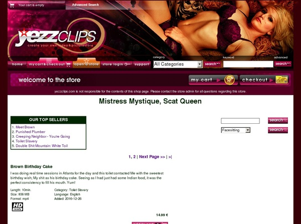 Mistress Mystique, Sc Paysites Reviews