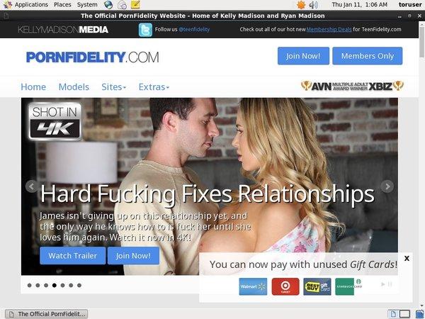 New Porn Fidelity Discount Code