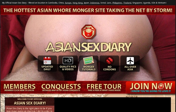 Asian Sex Diary Day Trial