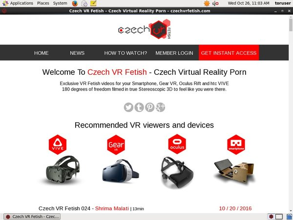 Czech VR Fetish Twitter