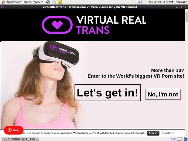 Virtual Real Trans Free Trial Pass