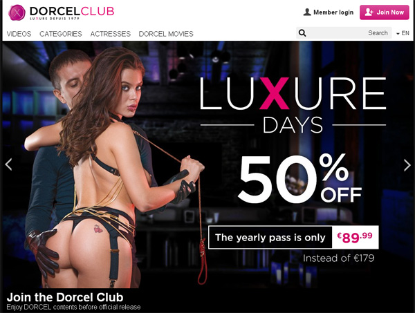 Dorcelclub Join With ClickandBuy