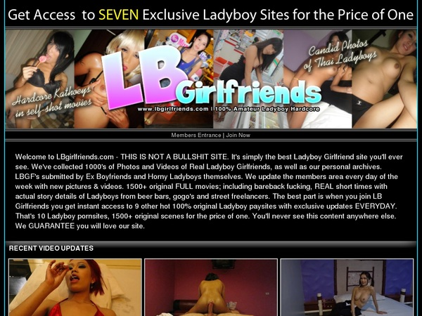 LB Girlfriends Free Trial Discount