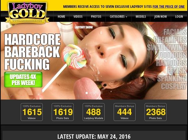 Ladyboygold.com Bank