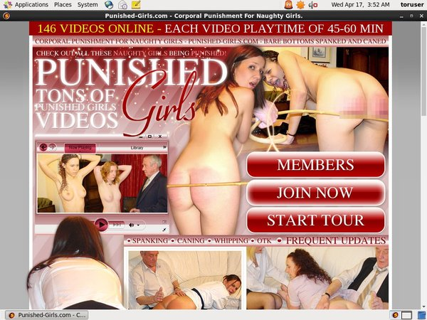 Punished Girls Org