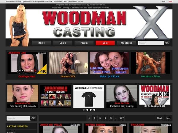Woodman Casting X Logon