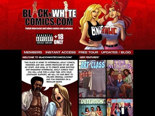 Black N White Comics 帐号