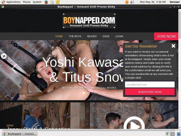 Promo Boynapped.com