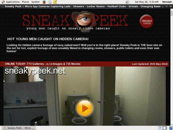 Sneakypeek.net Free Trial Membership